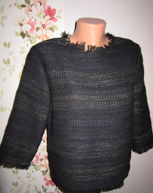 Блуза плетеная zara