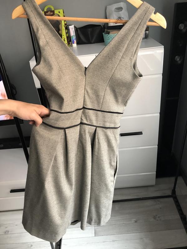 Плаття - сарафан у дрібненьку клітинку від suiteblanco {акція!... - Фото 6