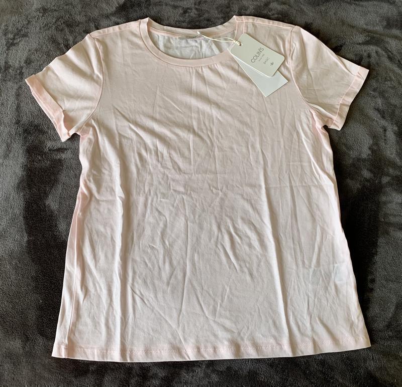 Футболка світло рожева, легкая футболка, хлопковая футболка.