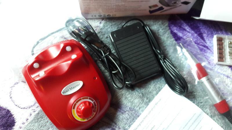 Машинка/фрезер для маникюра и педикюра nail drill pro zs-603 6...
