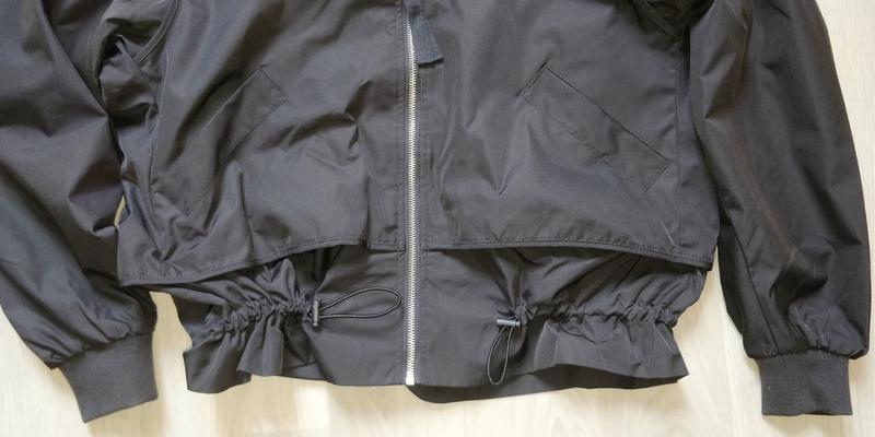 !продам новую женскую демисезонную куртку ветровку бомбер с ка... - Фото 6
