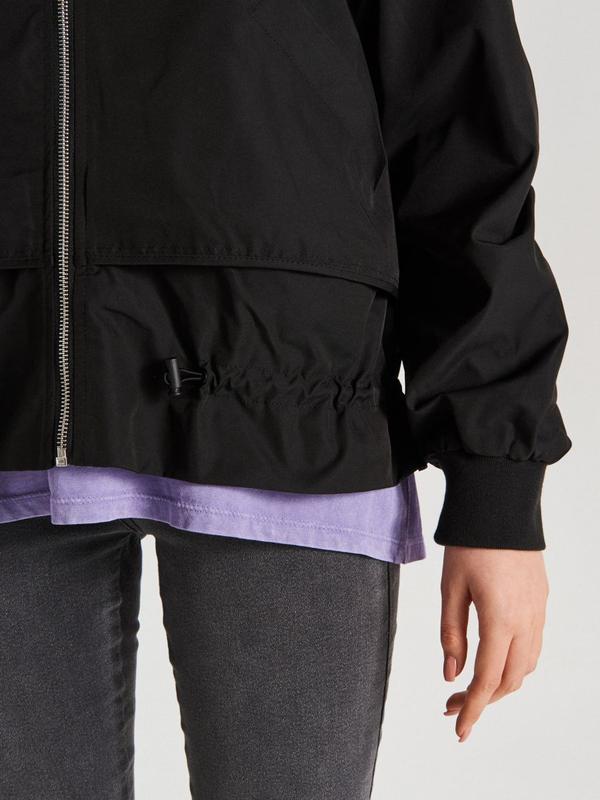 !продам новую женскую демисезонную куртку ветровку бомбер с ка... - Фото 7