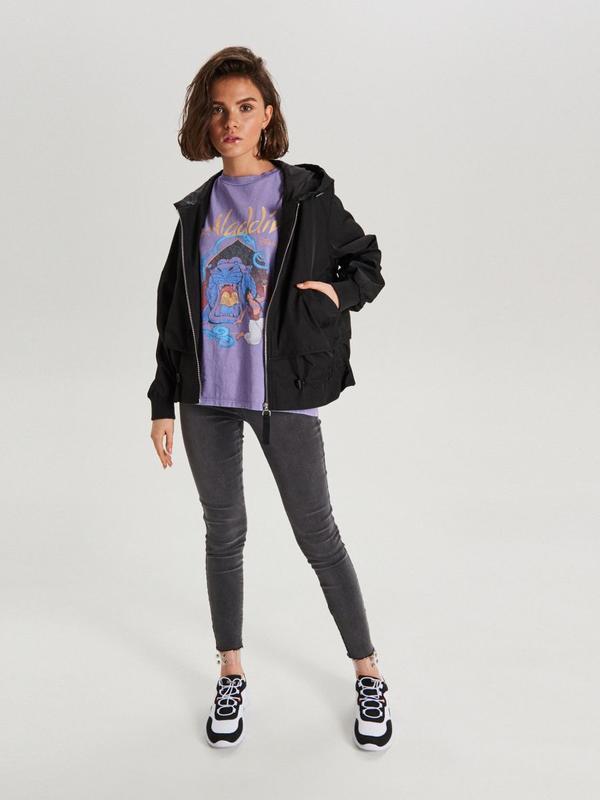 !продам новую женскую демисезонную куртку ветровку бомбер с ка... - Фото 9