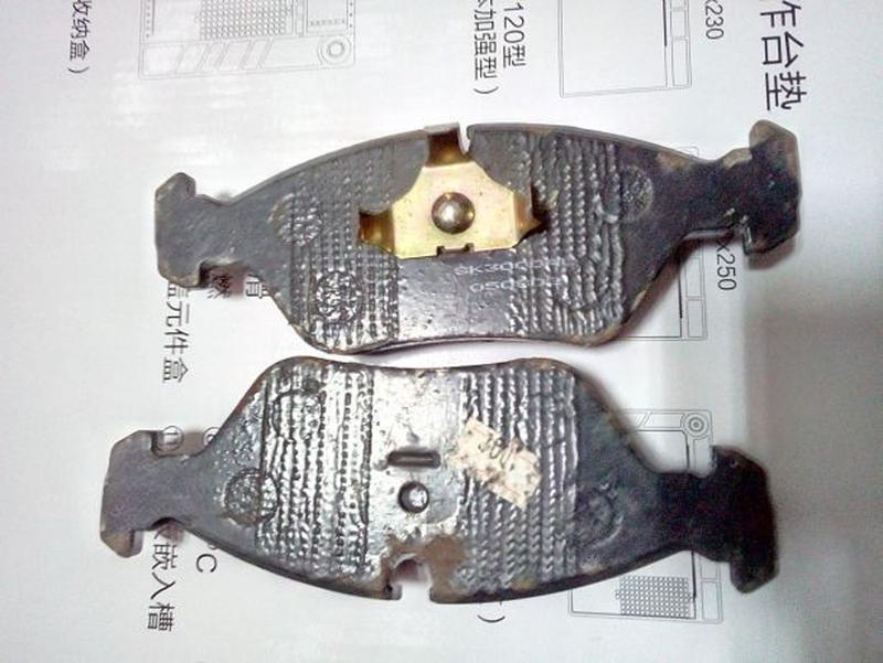 Тормозні колодки для BMW 524, 525,E28,E34 дизель
