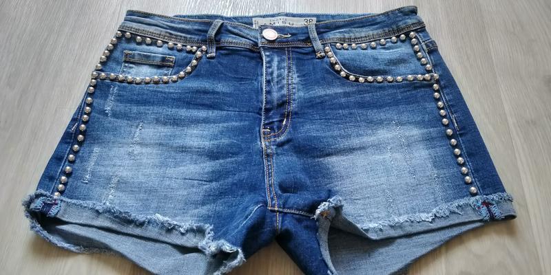 !продам новые женские летние джинсовые короткие шорты - Фото 6