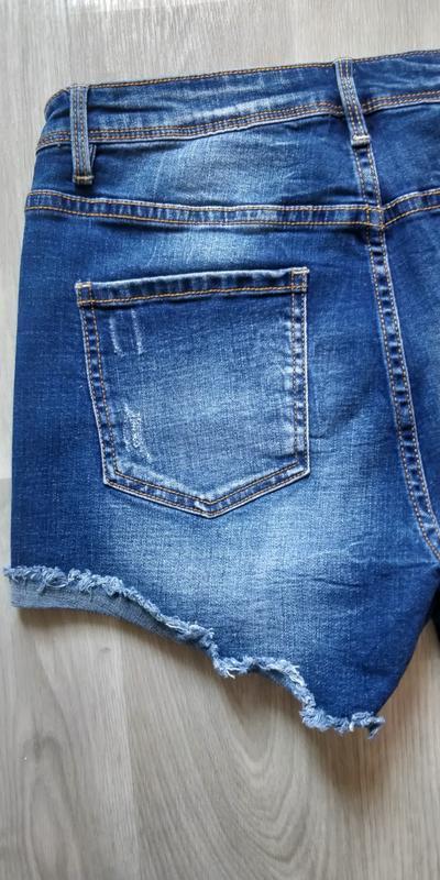 !продам новые женские летние джинсовые короткие шорты - Фото 8