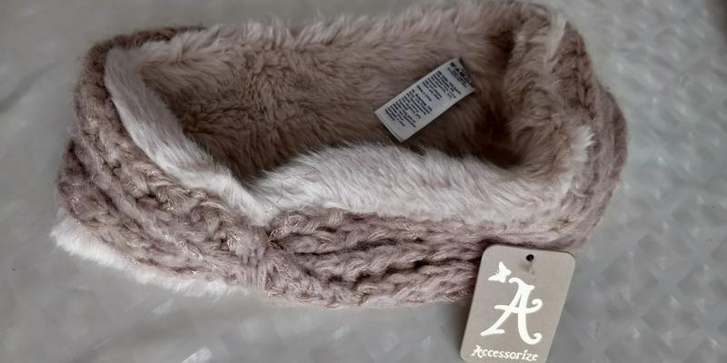 !продам новую женскую вязанную тёплую  повязку резинку для гол... - Фото 6