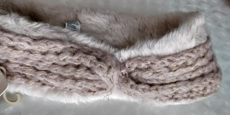 !продам новую женскую вязанную тёплую  повязку резинку для гол... - Фото 7