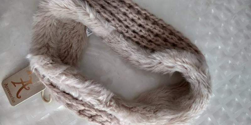 !продам новую женскую вязанную тёплую  повязку резинку для гол... - Фото 8