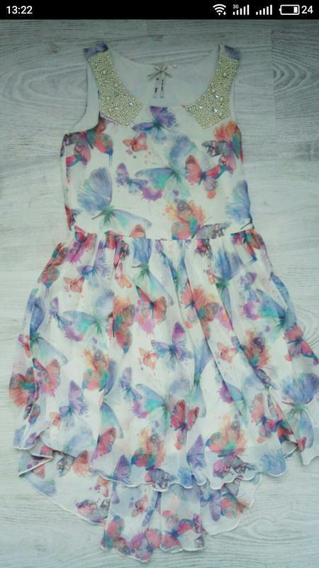 Новое нарядное платье next
