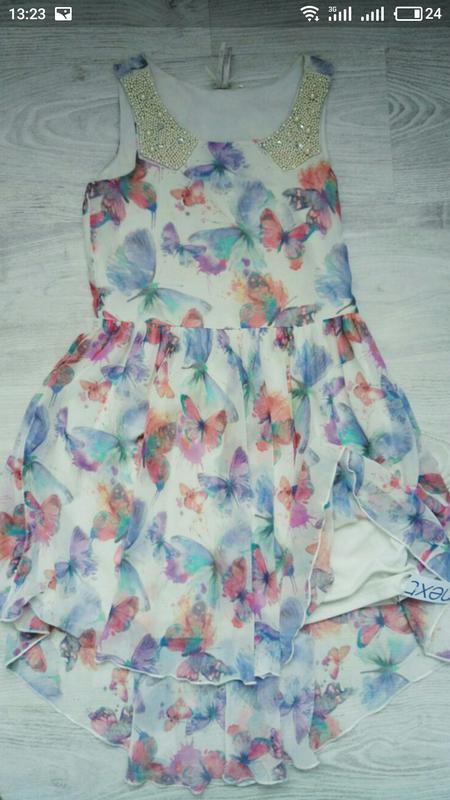 Новое нарядное платье next - Фото 2