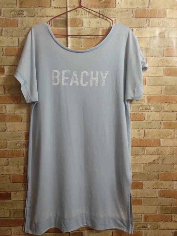Пляжная туника футболка размера s-m