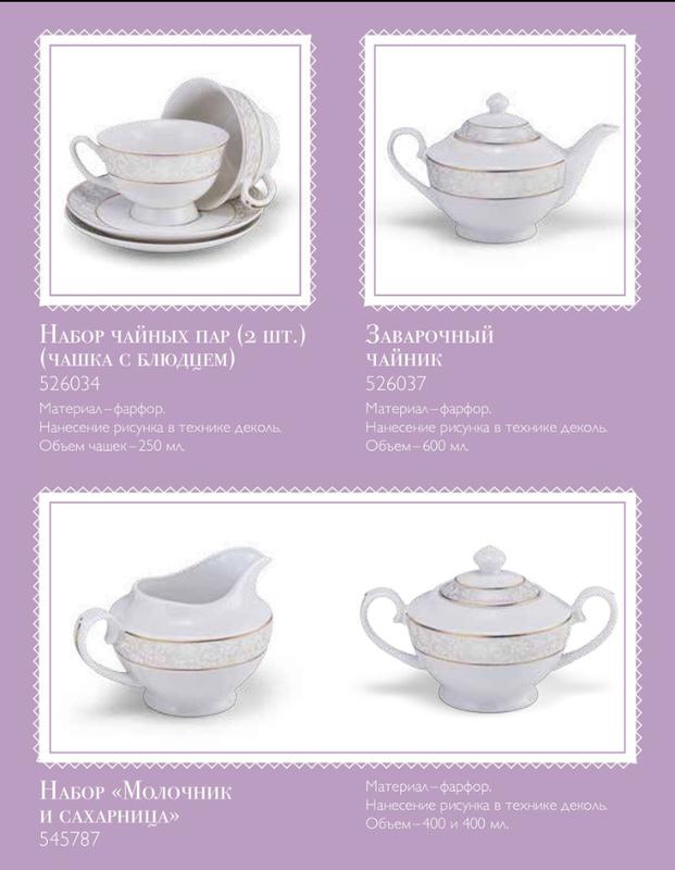 Чайный сервиз, чайный набор, набор для чаепития