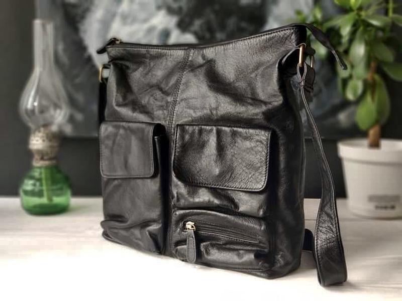 Nova 100% оригинальная кожаная сумка.