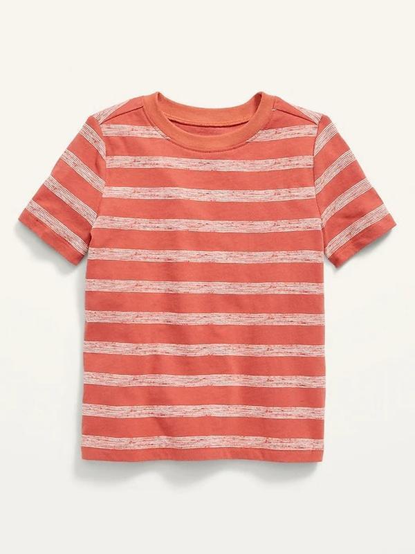 Трикотажна футболка в полоску олд неві для хлопчика