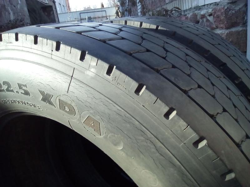 Шини вантажні бу R22.5 315/60 Michelin X - Фото 4