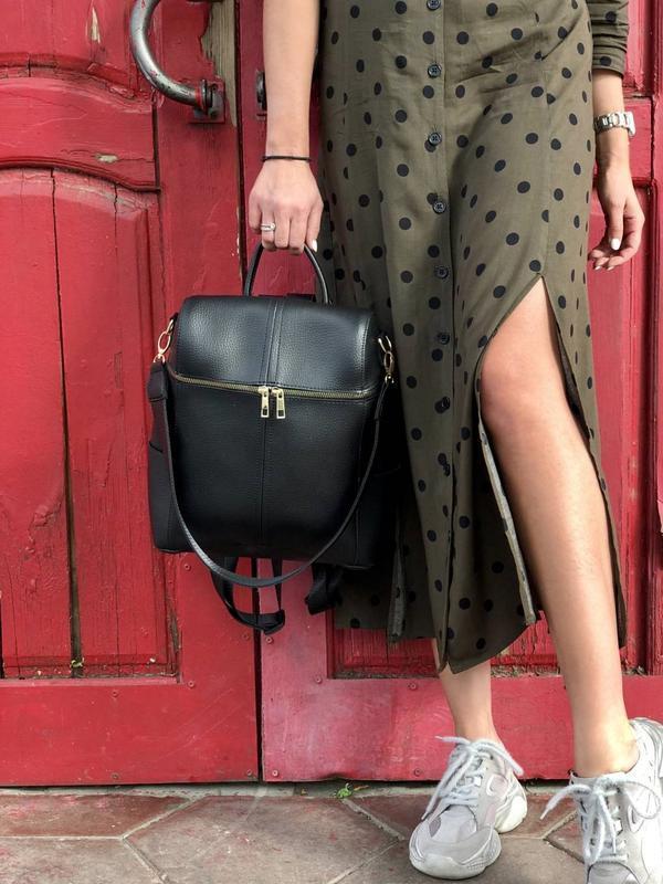 5 цветов! сумка рюкзак черный классический городской а4 в школ...