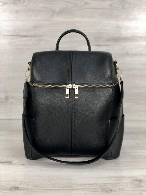 5 цветов! сумка рюкзак черный классический городской а4 в школ... - Фото 2