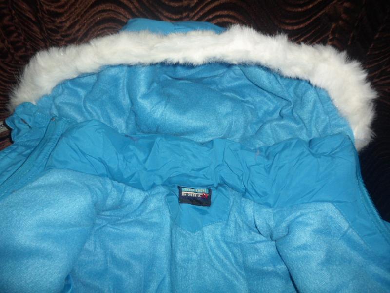 Куртка новая для девочки зима - Фото 8