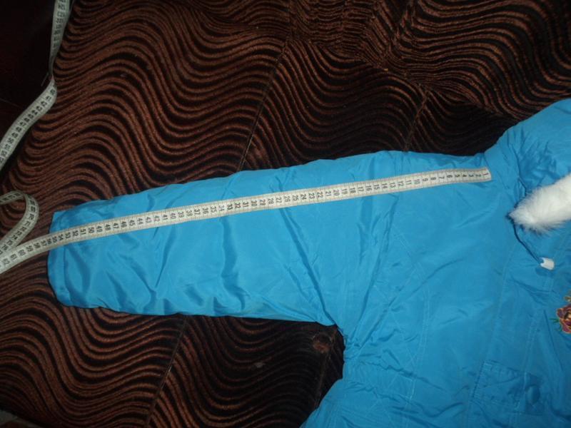 Куртка новая для девочки зима - Фото 4
