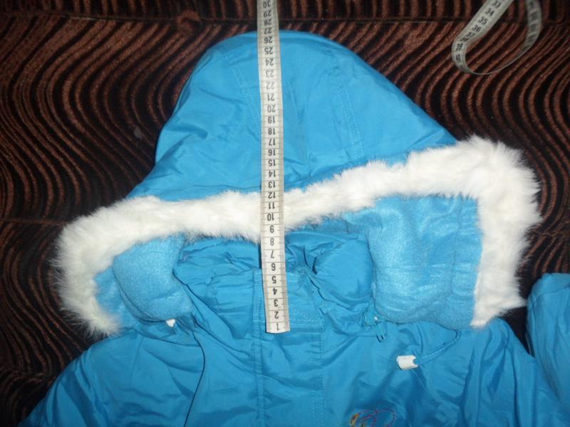 Куртка новая для девочки зима - Фото 6