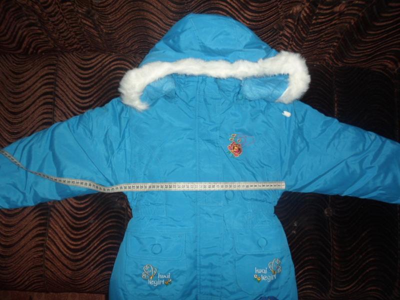 Куртка новая для девочки зима - Фото 2