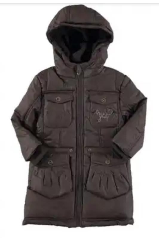 Куртка парка зимняя miss girly 4 года 102 см  и 5 лет 108 см