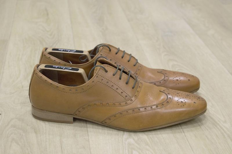 Next мужские кожаные туфли броги
