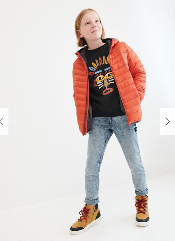 Классные джинсы reserved для мальчика 5-6 лет