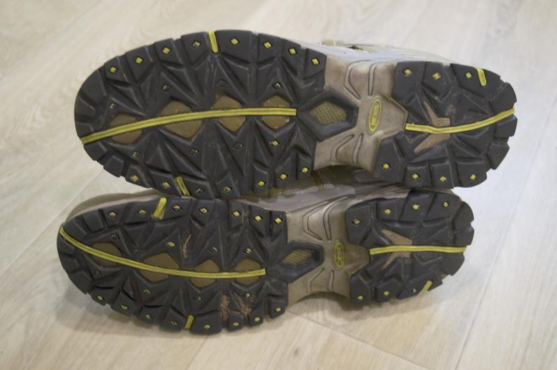 Meindl мужские трекинговые осенние зимние кроссовки ботинки ор... - Фото 4