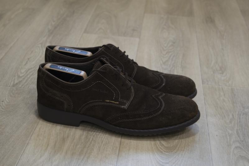 Josef siebl мужские туфли броги замша оригинал германия