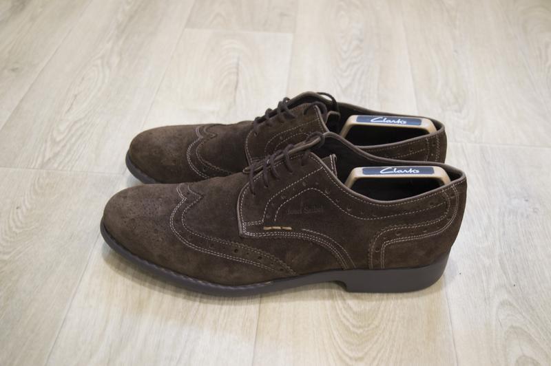 Josef siebl мужские туфли броги замша оригинал германия - Фото 2