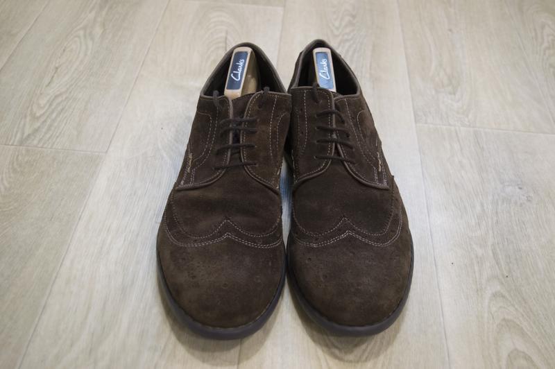 Josef siebl мужские туфли броги замша оригинал германия - Фото 3