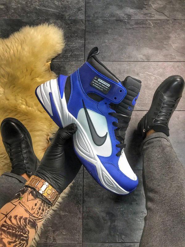 Кроссовки Nike M2K Tekno MID Blue White
