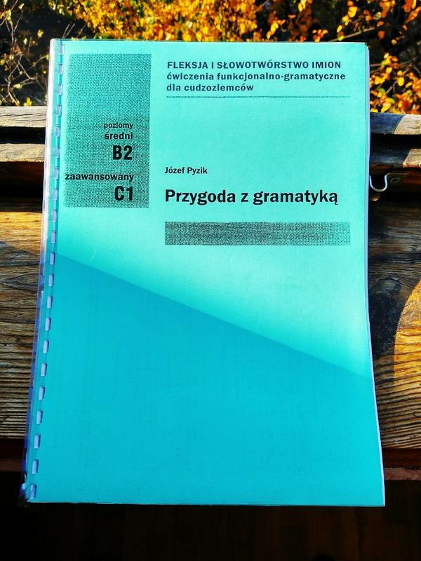 Підручник з польської граматики