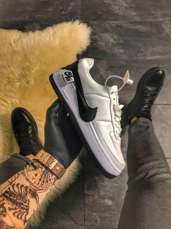 Кроссовки Nike Air Force 1 Jester White and Black