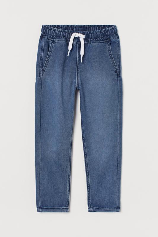 Джогерси з м'якого джинсу h&m 4-5 років (110см)118824, 7-8 років