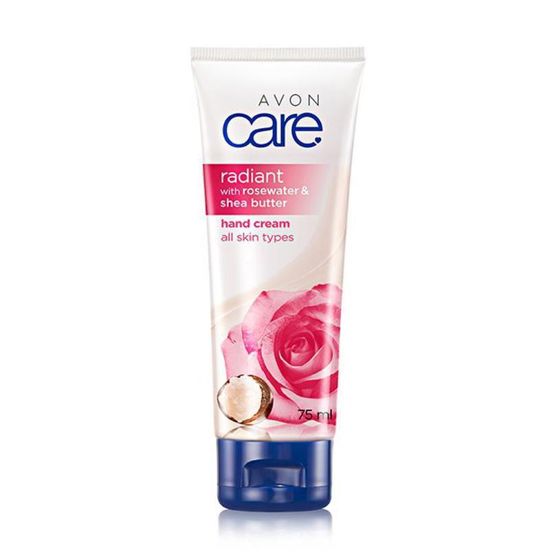 Крем для рук з рожевою водою та маслом ши «Сяйво»