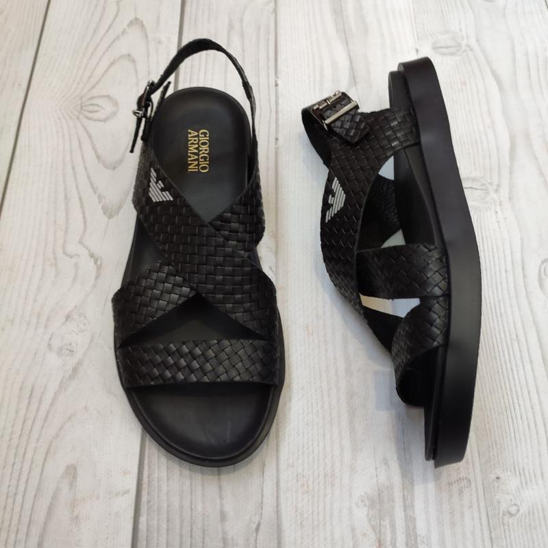 ❤️ мужские кожаные сандалии сандали