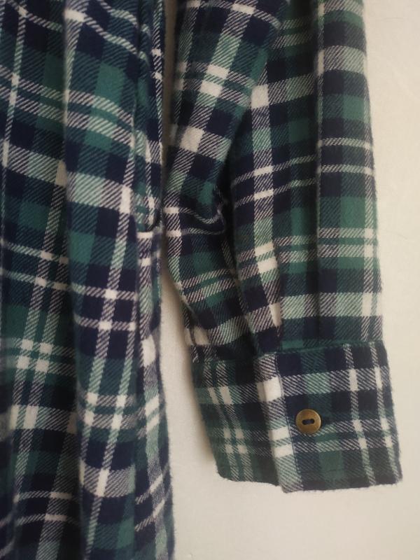 Платье-рубашка для девочки 11-12лет marks& spencer в клетку с ... - Фото 7