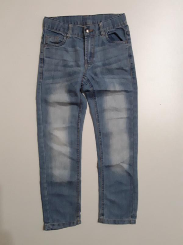 Фирменные джинсы 8-9 лет