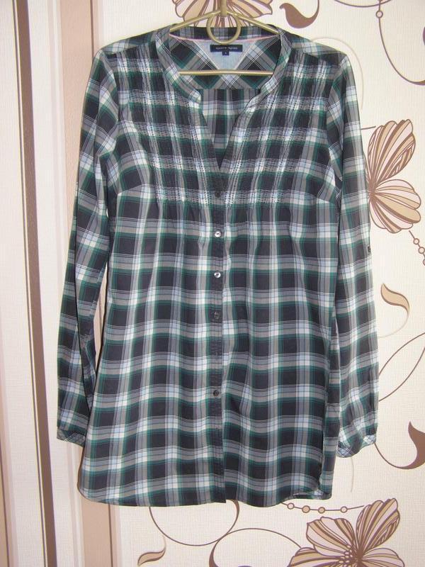 Удлиненная рубашка tommy hilfiger, р.6