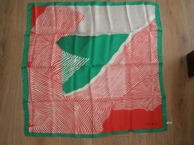 Шелковый платок pierre cardin, италия - Фото 2