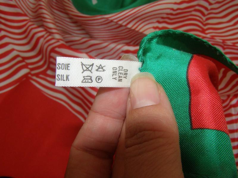 Шелковый платок pierre cardin, италия - Фото 4