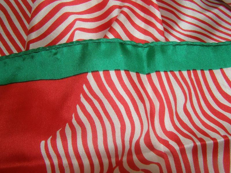 Шелковый платок pierre cardin, италия - Фото 7