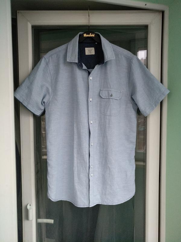 Рубашка-шведка льняная