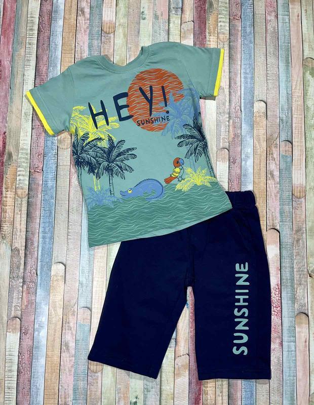 Летний костюм для мальчика sunshine 98 - 116  размер турция