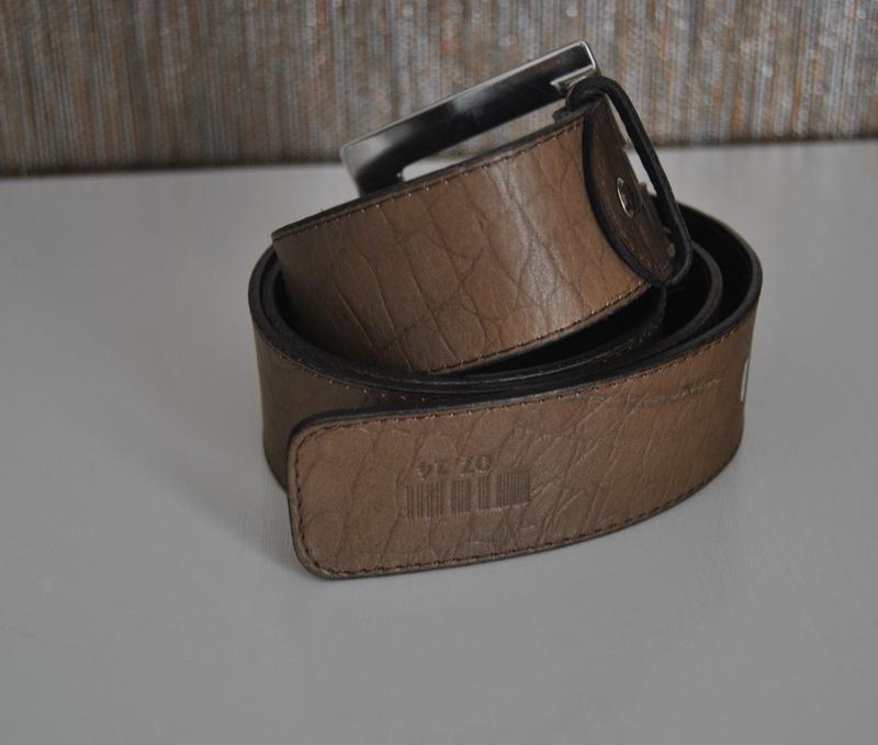 Кожаный ремень италия/ шкіряний ремінь - Фото 2