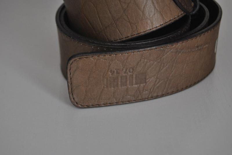 Кожаный ремень италия/ шкіряний ремінь - Фото 4
