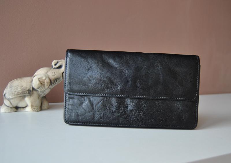 Кожаный кошелек graffiti / шкіряний гаманець